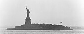 Liberty Island with Liberty Stat, Liberty Statue, Liberty Island, New York, USA