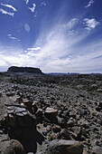 Rocky desert, Hoggard Mountains, Algerien, algerische Sahara, Hoggardgebirge, Aka Aka Afrika