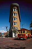 Flat Iron House, Water Street, Gastown, Vancouver, British Columbia, Canada, North America, America