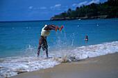 Strandakrobaten, Dominikanische Republik Karibik