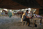 camping, Birdsville outback races, Queensland, Australia