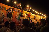 Fred Brophy's travelling boxing tent, Birdsville, Queensland, Australia