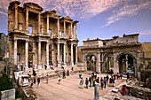 Library of Celsus and South gate, Ancient city of Ephesus, Turkish Aegean, Turkey