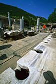 Latrinen, Ancient city of Ephesus, Turkish Aegean, Turkey
