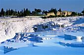 Sinter terraces of Pamukkale, Turkey