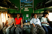 sleeper train journey, Burma, Myanmar