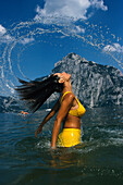 Haar-Wasser-Effekt