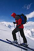 Ski-Tour, Aufstieg