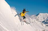 Skifahrerin, Freeriding
