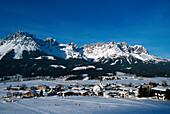 View of town, Elmau Tyrol-Austria