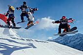 Snowboard, Boardercross, Val di Sole, Italien