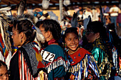 Junge Taenzer, Blackfeet-Powwow, Browning, North American Indian Days Montana, USA