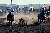Blackfeet Indian Rodeo, Browning, North American Indian Days Montana, USA