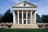 University of Virginia Jefferson, , Campus, Kollonaden u. Rotunda Virginia, USA