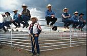Cheyenne Frontier Days, Rodeo, groesste Outdoor-Rodeo-Veranstaltung der Welt, Wyoming, USA