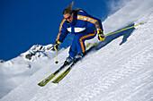 Ski, Carving extrem, Frau