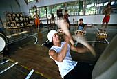 Taiko Kodo training center, Sado Island, Japan