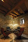 Corner with C. Eames Chairs, Hotel Widder, Zurich, Switzerland