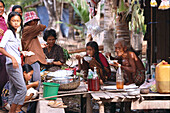 Lunchtime, Stong, Cambodia Asia