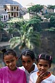 Kids in Gruzinha da Garca, Santo Antáo Cape Verde