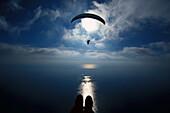 Paragliding, near Monte Carlo Europe, Sports