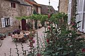 Chambres d´hotes Le Monstier, St-Denis-de-Vaux Burgundy, France