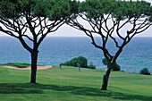 Golf Course, Vale do Lobo, Ocean Course, Hole 14, Algarve, Portugal