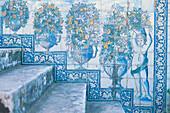 Azulejos, Palacio da Fronteira, Monsanto, Lisbon, Portugal
