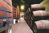 Ferreira wine cellar, Gaia Porto, Portugal