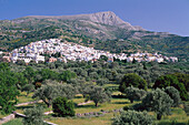 Mountain village Filoti & Zas Mtn., Naxos Cyclades , Greece