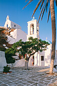Ios, Church Gremiotissa & Chapel, Agios Nikolaos, Cyclades, Greece