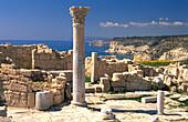 Archeological excavation Kourion, Akrotiri, South Cyprus, Cyprus