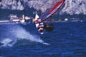 Windsurfer, Gardasee, Italien release on application