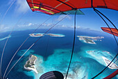 El Roque-Island from hang glider