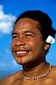 Teenager, Pretty Smile, Tikopia, Temotu Province Solomon Islands, South Pacific