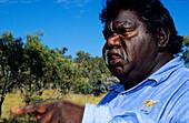 Aborigine, Lawn Hill, Queensland Australia