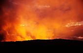 Active Volcano, Marum, Ambrym Vanuatu, South Pacific