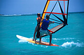 Surfen, Aruba Karibik