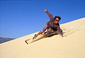 Sandboarding, Sport