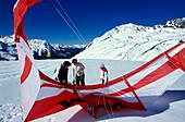 Snowkiting, Winter sports