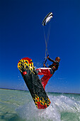 Kitesurfer, Jump, Djerba Tunesia