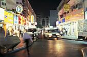 Souk, people at the marketplace at night, Dubai, United Arab Emirates, Middle East, Asia