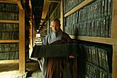 The Tripitaka Koreana, a Korean collection of the Tripitaka, Buddhist scriptures, UNESCO world heritage, Haeinsa, Kayasan National Park, South Korea, Asia