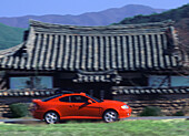 Korean car in Geongju Kyongju, , Geongju, South Korea Asia