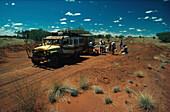 Jeep in Australien, Outback, Australien Verkehr