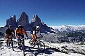 Mountainbike Tour, Drei Zinnen, Suedtirol Italien, Sport