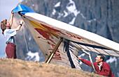Drachenfliegen, Dolomiten Italien