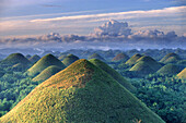 Sunrise, Chocolate Hills, natural wonder, Bohol Island, Philippines