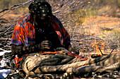 Aboriginal bemalt Boomerang, Northern Territory Austalia