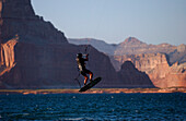 Kiteboarding, Lake Powell, Lake Powell Arizona-USA